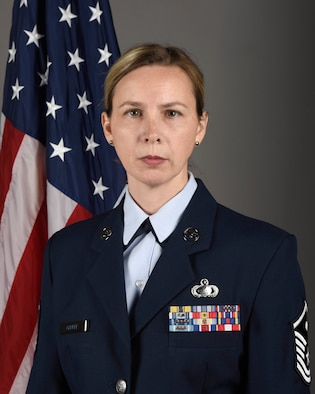 180th Fighter Wing's 2019 First Sergeant of the Year: Master Sgt. Crystal Carper