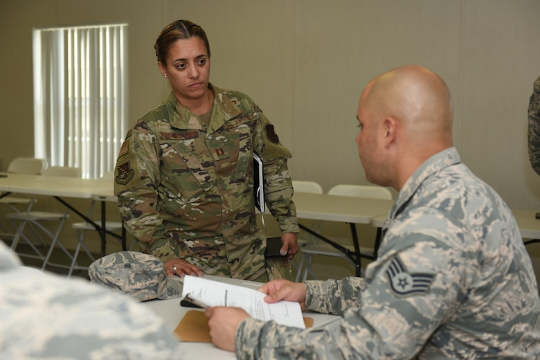 Puerto Rico Airmen process relief support from Ohio, New Mexico ANG