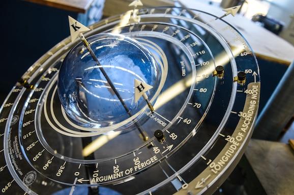 Photo of orbital mechanics trainer