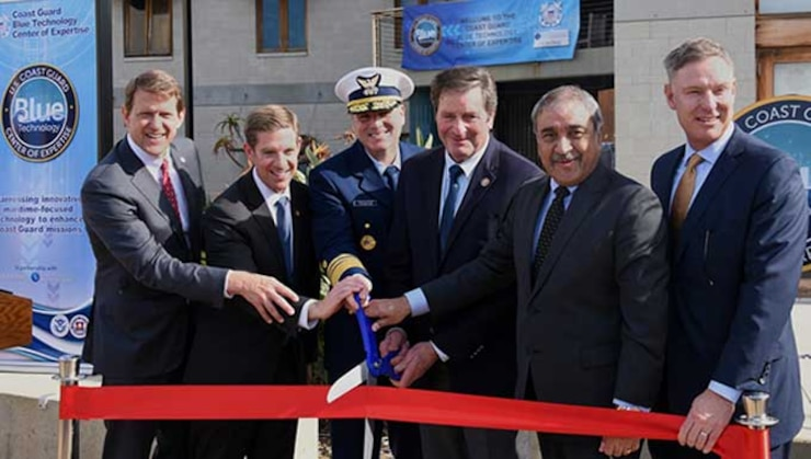 Coast Guard opens new Blue Technology Center of Expertise