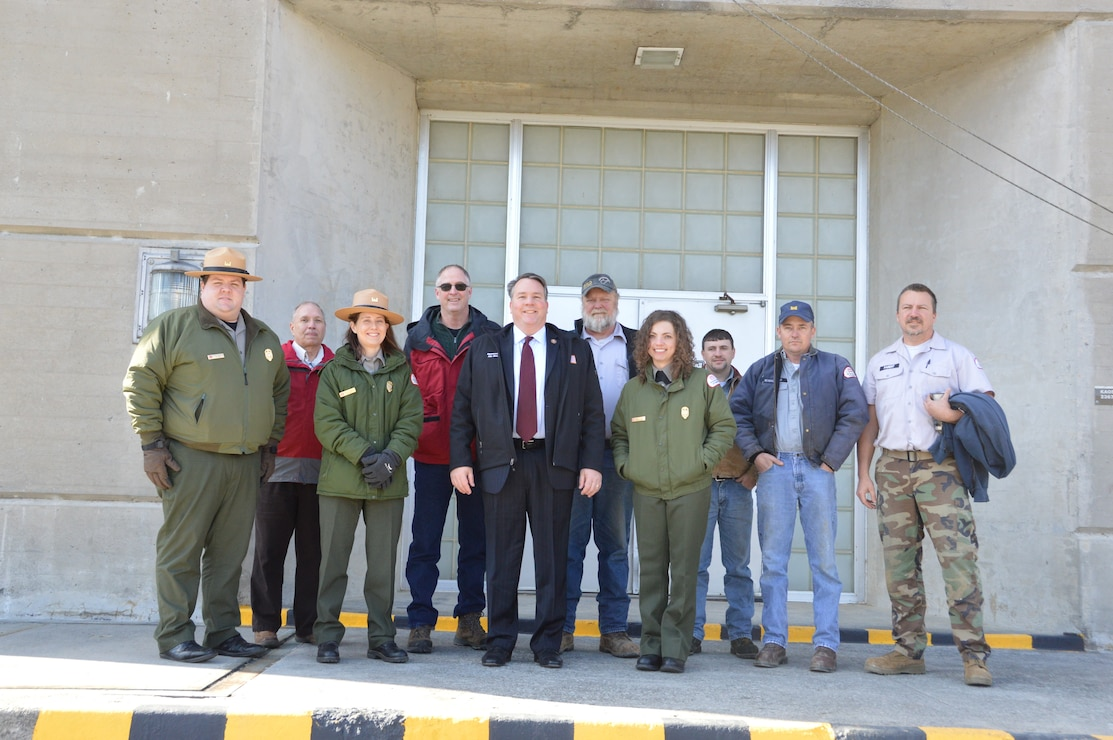 Congressman Alex Mooney Visits Sutton Dam