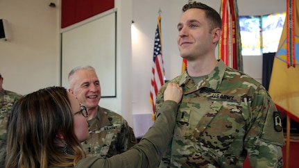7th Mission Support Command Chaplain trailblazes candidate program in Europe