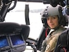 U.S. Army Reserve Capt. Leyla Zeinalpour, commander of HHC, 364th Sustainment Command (Expeditionary), headquartered in Marysville, Washington, and a Black Hawk and Apache helicopter pilot by trade, sits in the cockpit of a Black Hawk during a visit to discuss potential training opportunities and support with the 1-168th General Support Aviation Battalion located on Joint Base Lewis-McChord, Jan. 11, 2020.