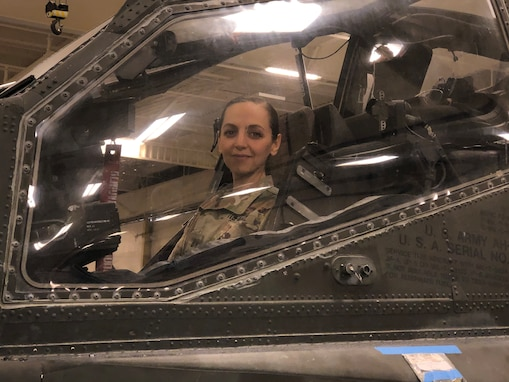 From the desert to the cockpit: Army Reserve aviator shares her story