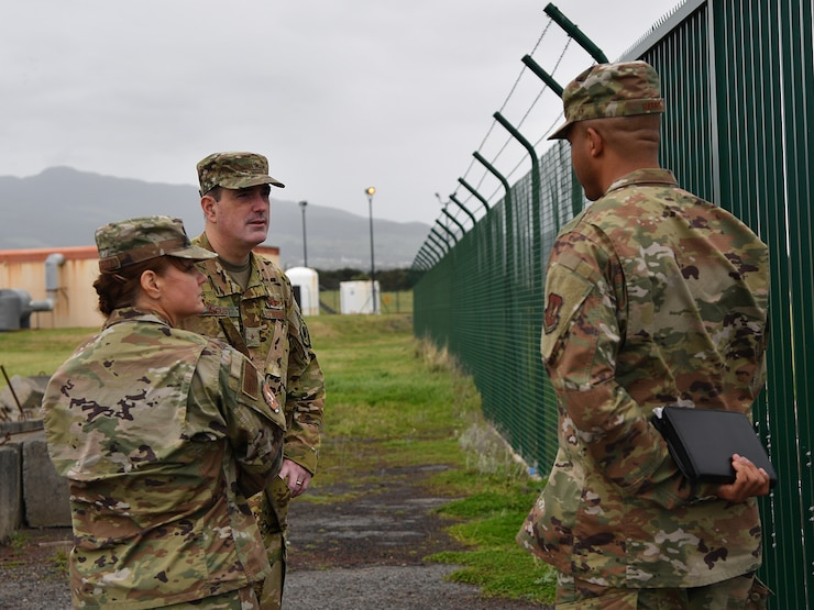 86 AW leadership holds all-calls across wing