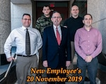 Group Photo of November New Employees 2019