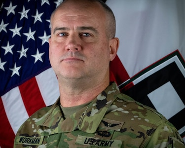 Lt. Col. Kendall Workman, Plans Officer, First Army
