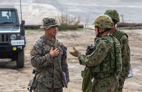 Iron Fist enhances opportunities for the Japan Ground Self-Defense Force and the U.S. Marine Corps to share expertise in the use of amphibious vehicles, combined arms and amphibious doctrine.