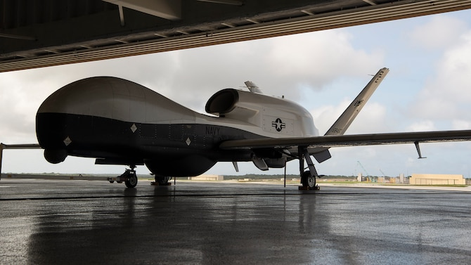 U.S. Navy's Triton Unmanned Aircraft System Arrives in 7th Fleet