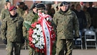 Polish monument rededication ceremony in Hohenfels Germany