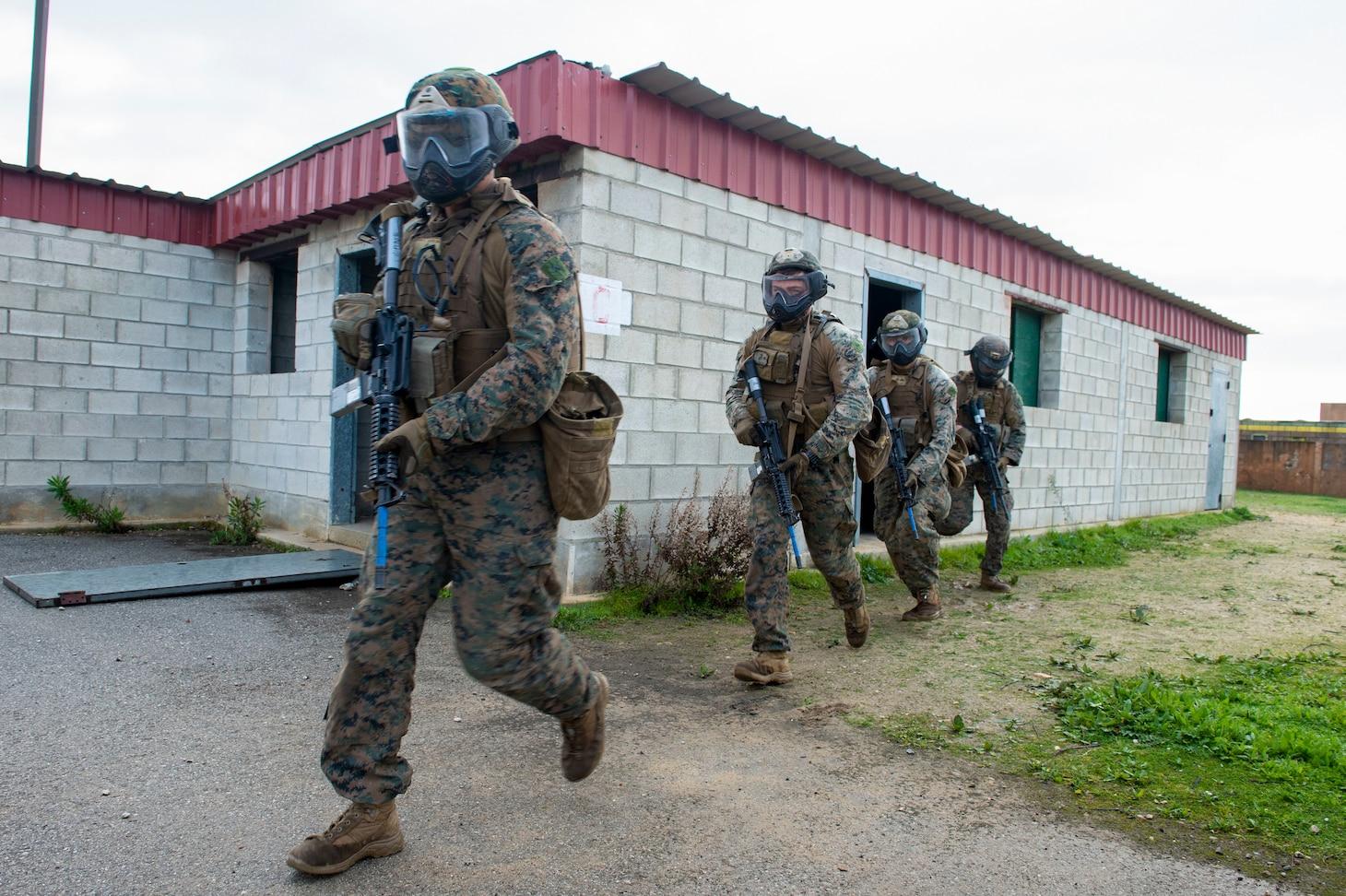 Marines; FASTEUR; Fleet Anti-Terrorism Security Team Company, Europe; Combat Force Europe-Africa/Task Force; CTF 68