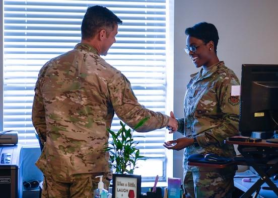 Command Chief visits CE Airmen