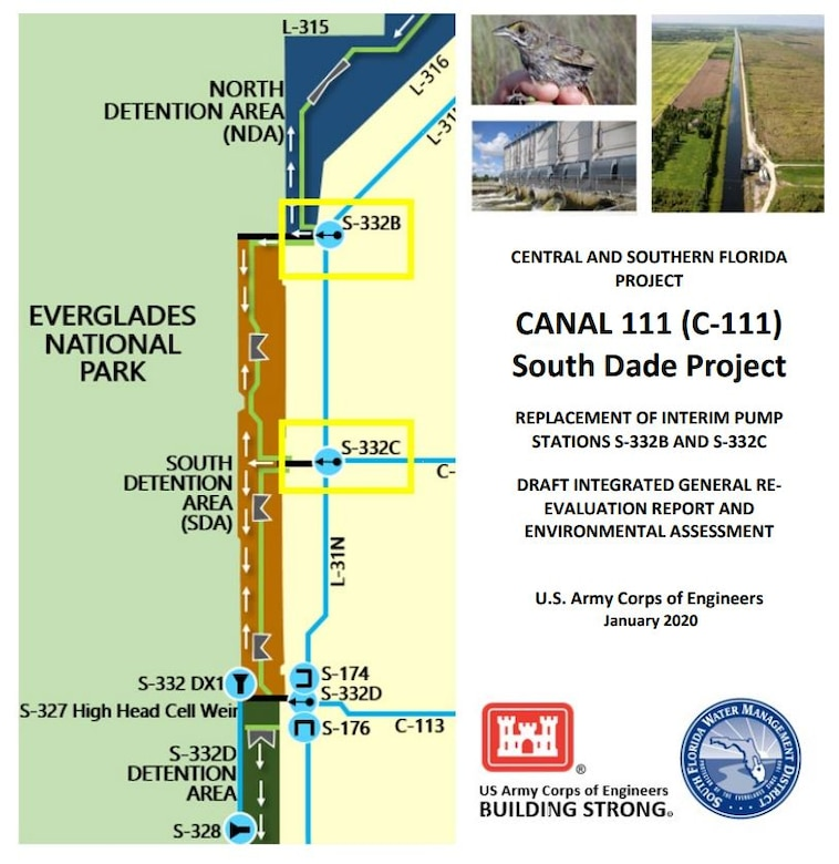 C-111 South Dade Project Draft GRR and EA