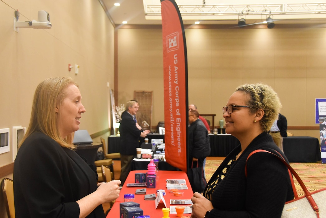 Far East District participates in job fair aimed at increasing military spouse employment