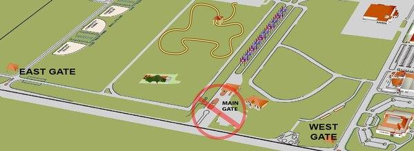 Joint Base San Antonio-Randolph's Main Gate closes Feb. 26 for construction work, reopening April 1.