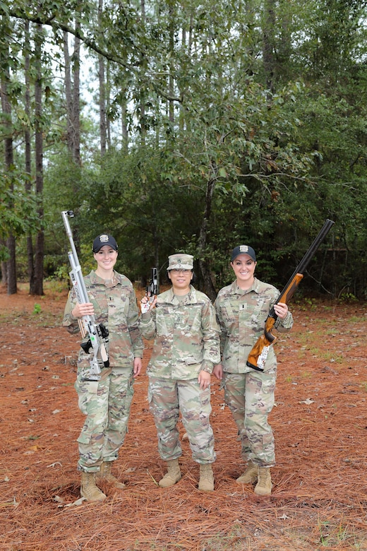 U.S. Army Reserve Soldiers compete for Olympics