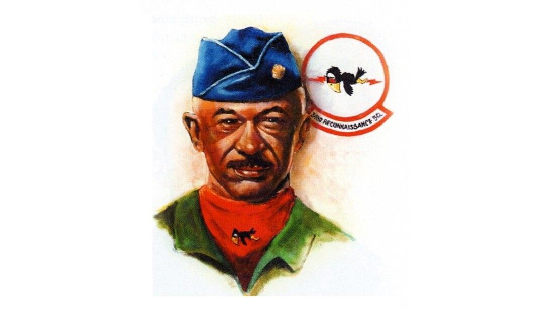 Graphic photo of Lt. Col. Harrison Tull