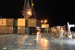 599th Trans. Bde., Partners Upload Cargo for Pacific Pathways