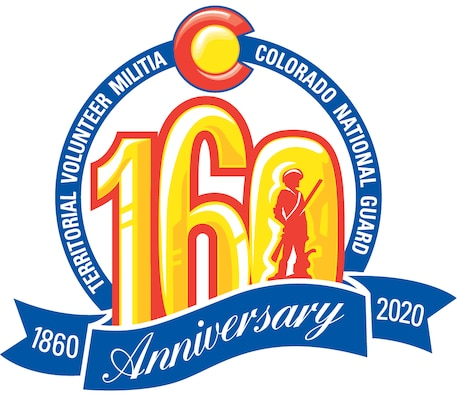 Logo for the CONG's 160th Anniversary
