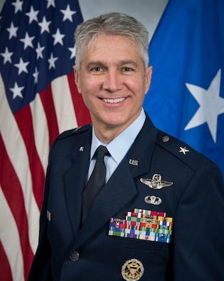 This is the official portrait of Brig. Gen. Jeremy Sloane.