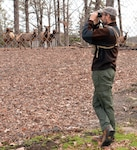 Bellwood Elk get visit from the Virginia Department of Game and Inland Fisheries