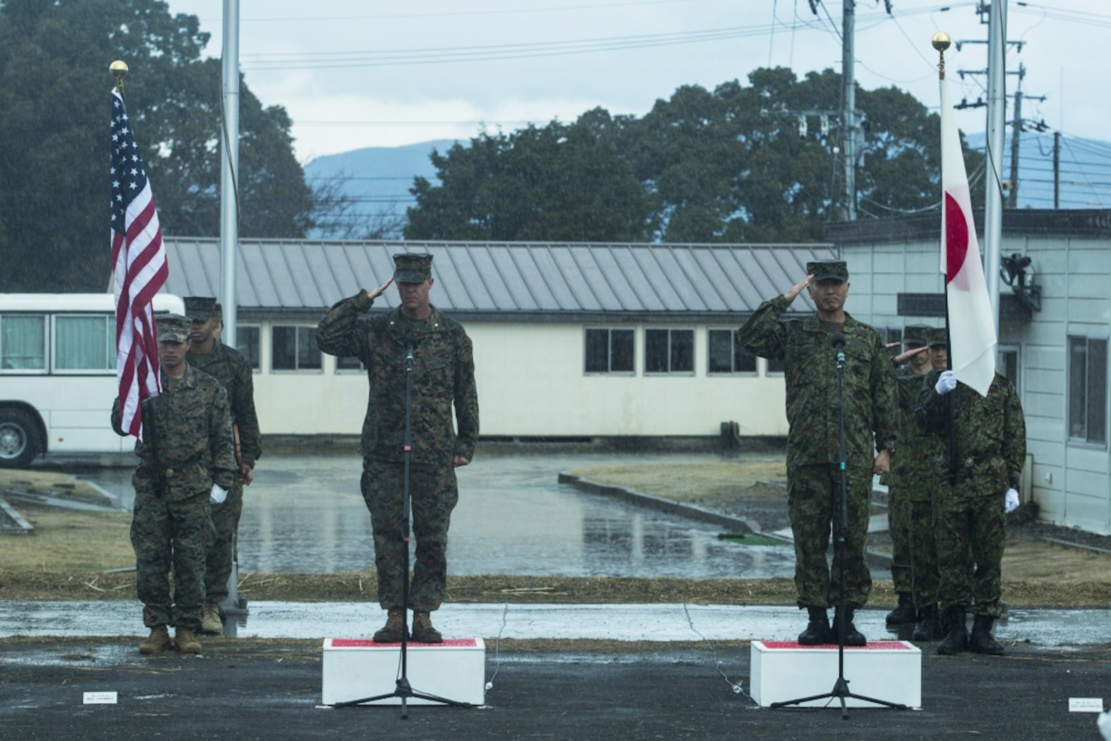 U.S. Marines, Japan Ground Self-Defense Force complete Exercise Forest Light Western Army