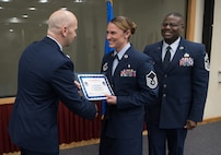 Monthly promotion ceremony held