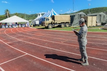 Public Health assessment at Guayanilla base camp