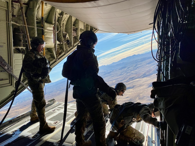 photo of Airmen on HC-130J