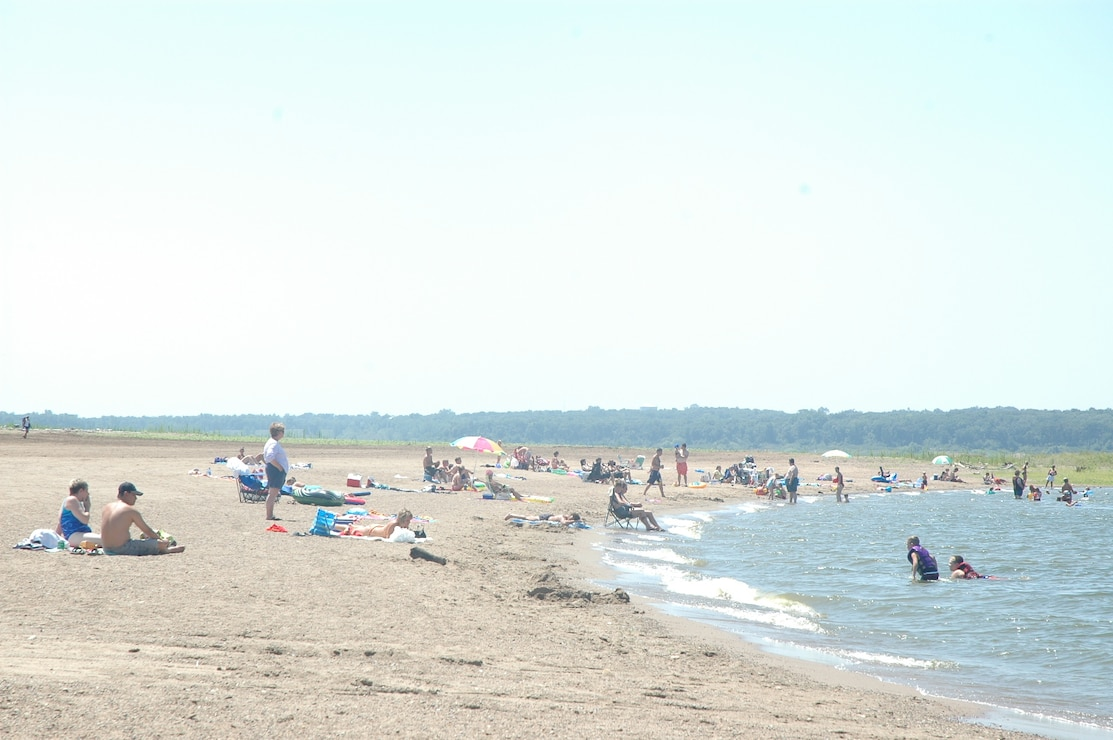 Oak Grove Beach at Saylorville Lake