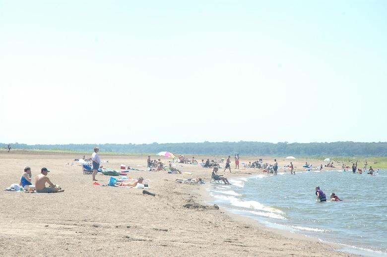 Oak Grove Beach at Saylorville Lake