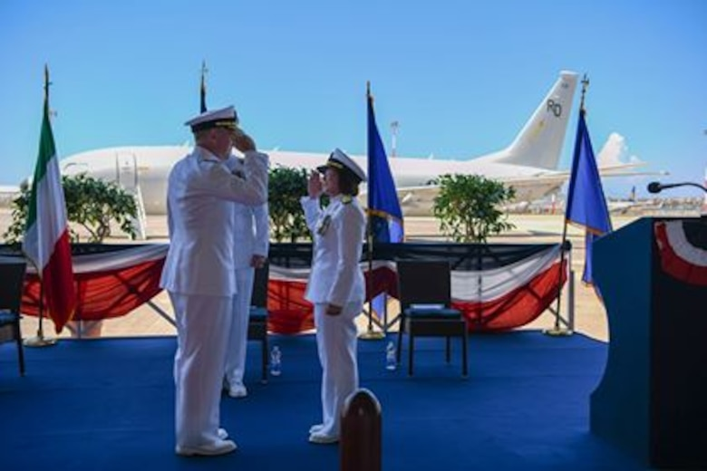 6th Fleet; Change of Command