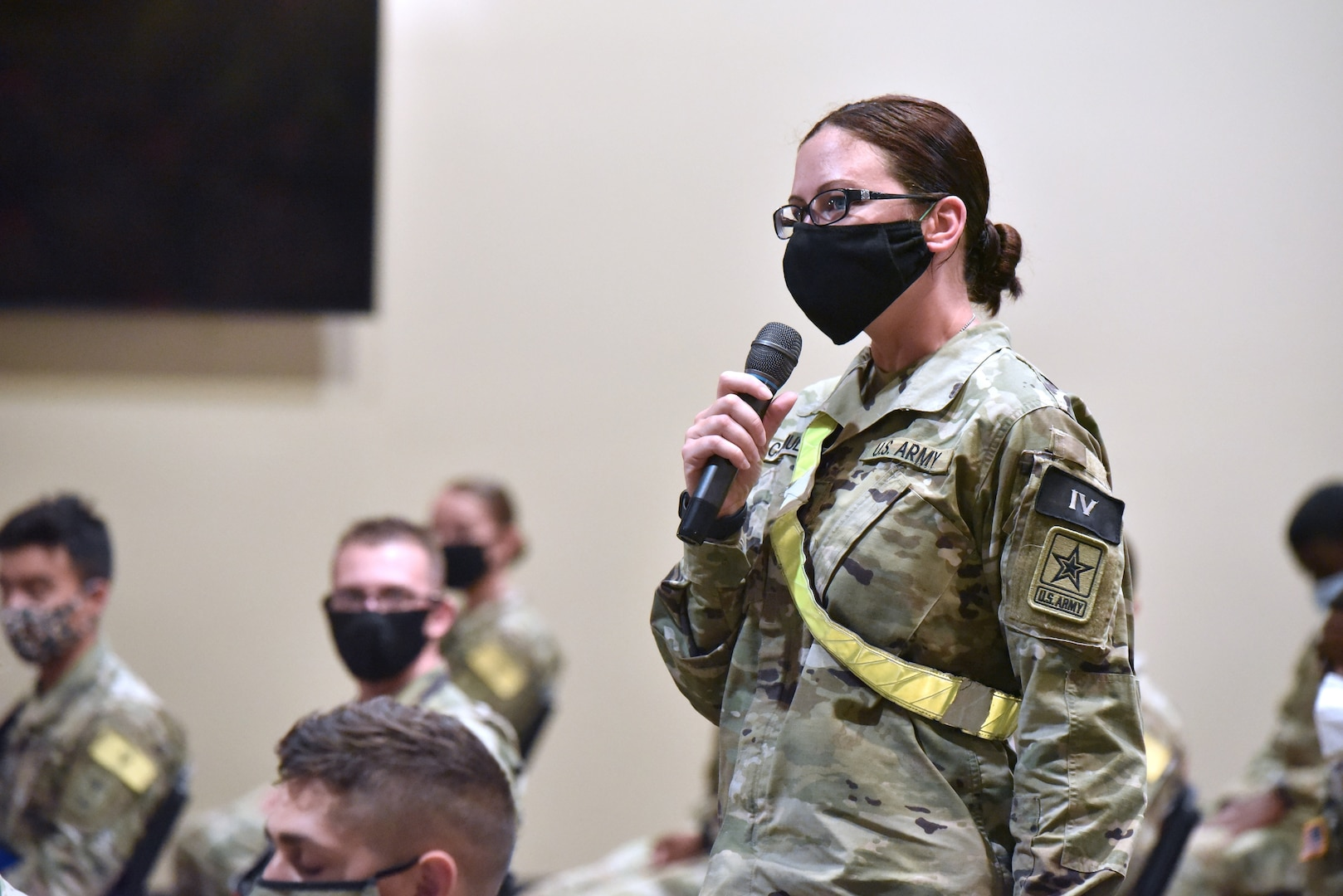 Pfc. Stacey Catmull was inspired to serve in Army Medicine after she found herself rendering aide to victims of the Las Vegas Shooting in 2017.