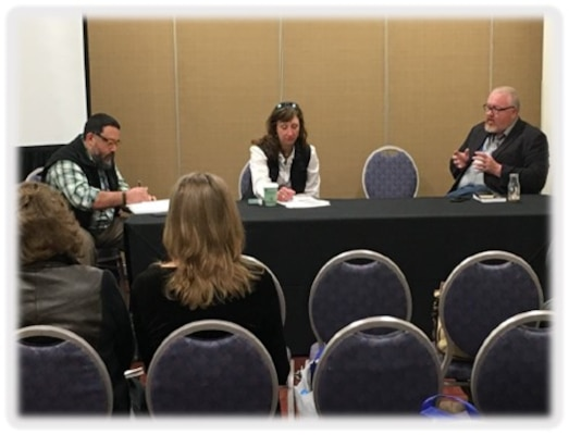 TNTCX Deputy, Mr. Mike Fedoroff participates on a panel
