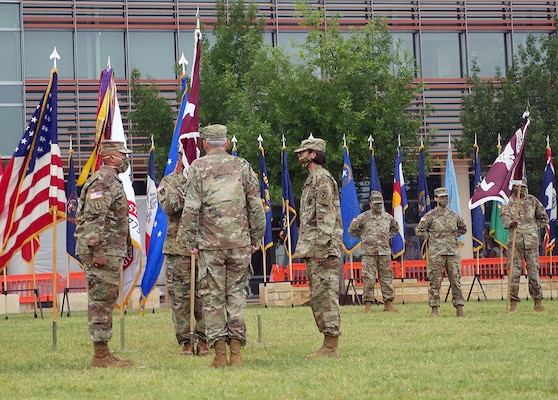 Brooke Army Medical Center change of command