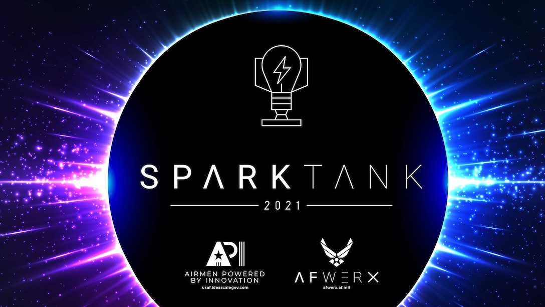 Spark Tank, a collaboration between AFWERX and Deputy Under Secretary of the Air Force, Management, is now accepting submissions for the 2021 campaign from July 1 to October 16, 2020. The annual campaign is designed to spur and empower innovative ideas from Airmen to further strengthen Air Force culture and capabilities. (U.S. Air Force courtesy photo)