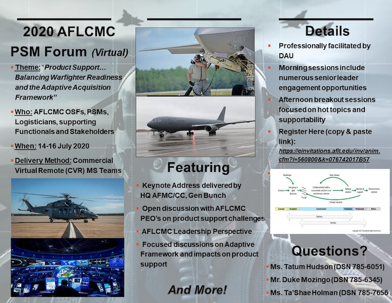 2nd Annual AFLCMC PSM flyer