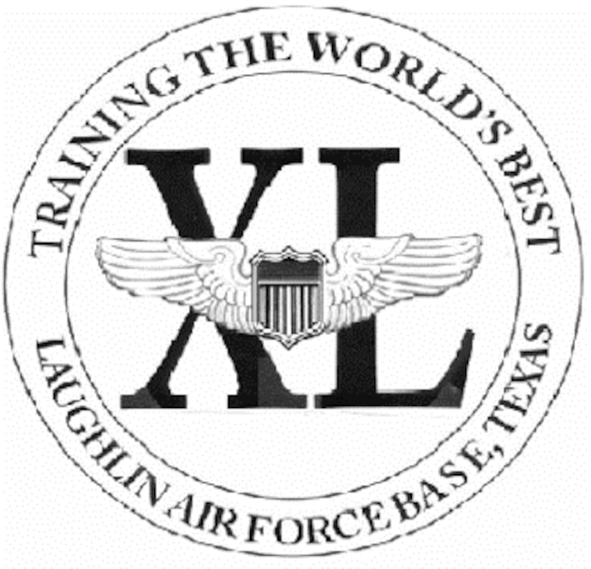 """XL"" Logo for Laughlin Air Force Base used in the 2000's. (Courtesy Graphic)"