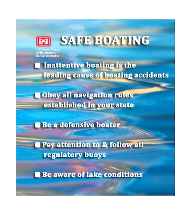 Obey all navigation rules established in your state.