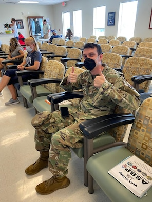 Fort Gordon Airmen hosts blood drive photo