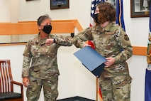 Enlisted Airmen promoted during monthly ceremony