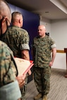 Congratulations to Maj. James Oshaughnessy for being awarded the Meritorious Service Medal for his outstanding performance and selfless service to U.S. Marine Corps Forces Korea. Maj. Oshaughnessy greatly improved the interoperability and relationship between the USMC and ROKMC in Korea from June 2019 to June 2020. Thank you, Sir, for all of your hard work and dedication to the MARFORK Team! (U.S. Marine Corps Photo by Sgt. Parker R. Golz)