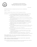 412th Test Wing Commander's latest COVID-19 guidance.