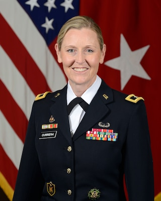 Brig. Gen. Joy Curriera, Commandant, Eisenhower School