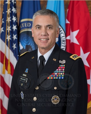 Portrait of Paul M. Nakasone, General U.S. Army; Commander, U.S. Cyber Command; Director, National Security Agency; Chief, Central Security Service