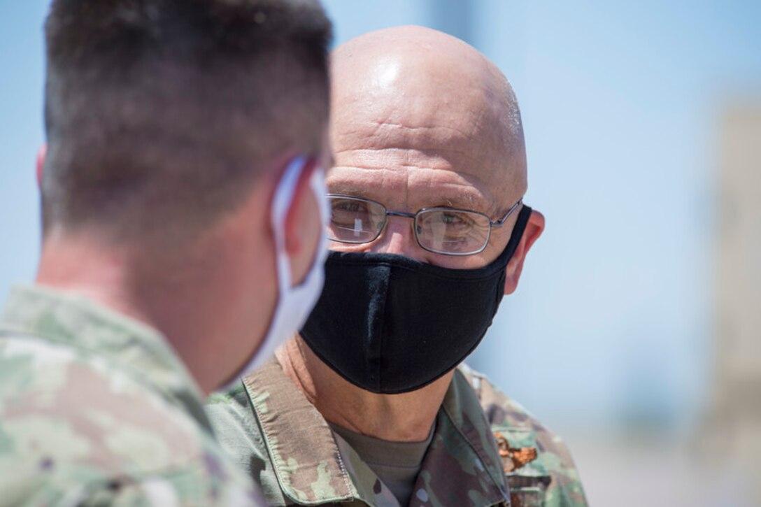 AFMC commander visits Holloman AFB