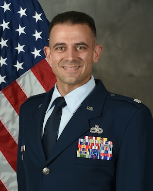 Lt. Col. Marc Vassallo (U.S. Air Force official photo by Airman 1st Class Colin Hollowell)