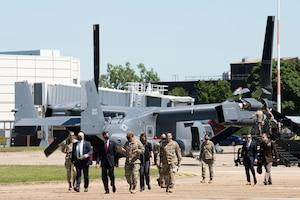 SECDEF visits RAF Mildenhall