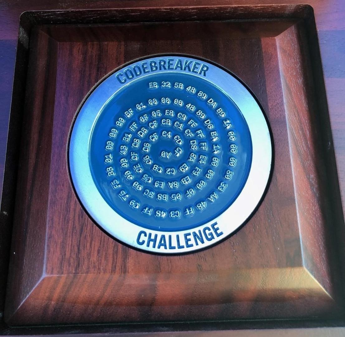 Codebreaker Challenge Medalion