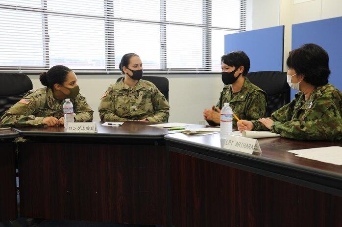 Female Soldiers, JGSDF Members on Camp Zama Share Experiences as Women in Workforce